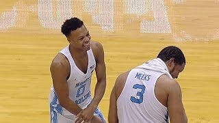 UNC Men's Basketball: Britt & Meeks Give Senior Speeches