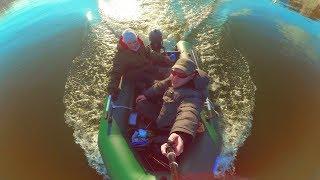 Рыбалка с лодки в Ростове-на-Дону. Hidea 5hp. Лагуна 300.