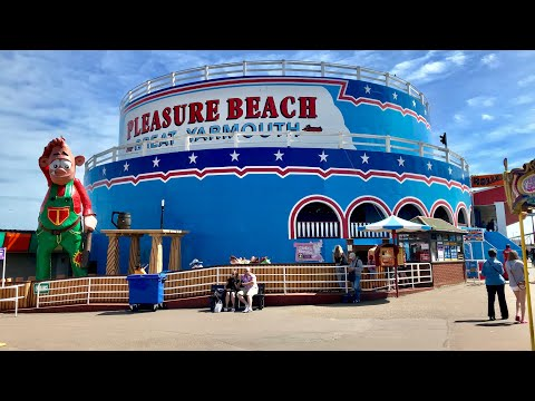 Great Yarmouth Pleasure Beach Vlog 24th June 2018