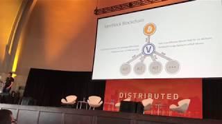 VeriBlock CTO Maxwell Sanchez at Distrbuted Markets 2018