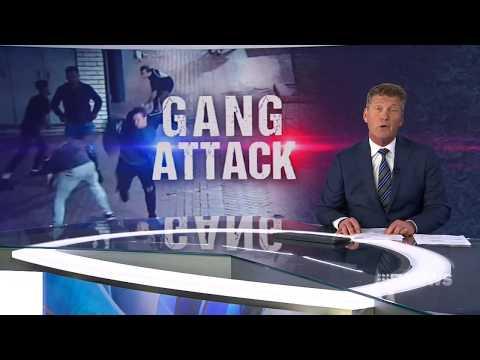 Brick attack | 9 News Perth