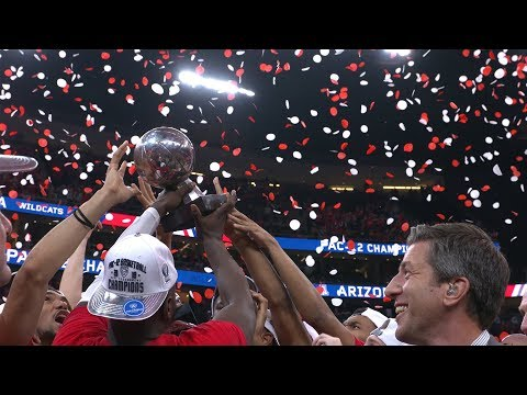 Highlights: Arizona Wins Pac12 Tournamet Championship