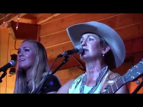 JONI HARMS and OLIVIA 2016 - Cowboy Barn (France)