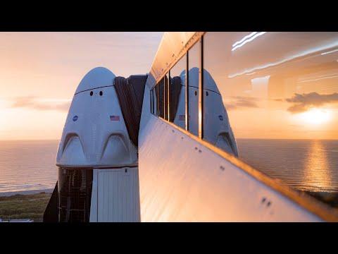 SpaceX отправила астронавтов