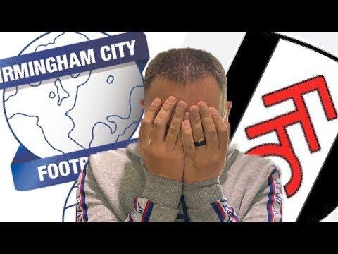 Blues Vlog #5 Birmingham City vs Fulham - Time For Some Changes