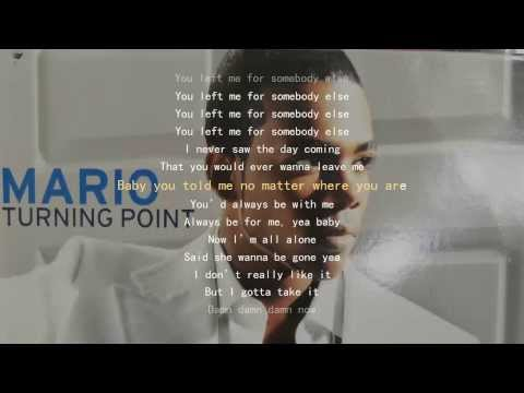 Mario   Somebody Else mv Lyrics