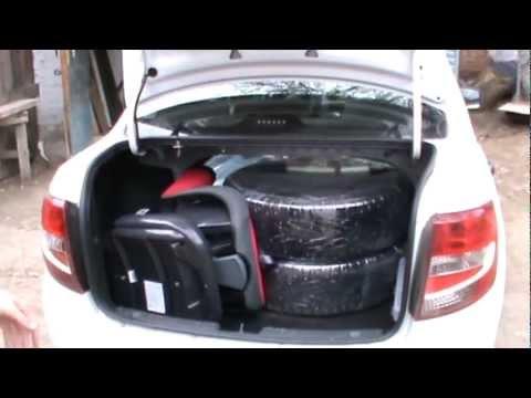 Тест багажника Лада Гранта