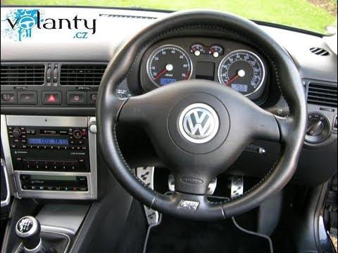 remove steering wheel airbag vw golf iv