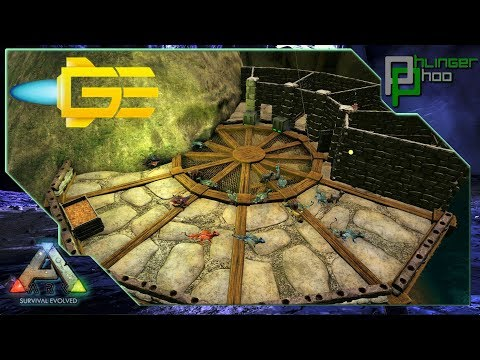 Ark: Aberration - GE#10 - CLIFFSIDE BREEDING PLATFORM BUILDING! GLOWTAIL BREEDING!