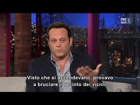 Vince Vaughn @ David Letterman Show 06/06/13 SUB ITA