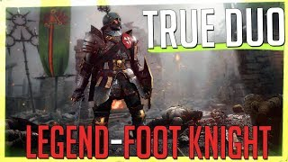 TRUE DUO Legend, Foot Knight + Ironbreaker - Righteous Stand (Vermintide 2)