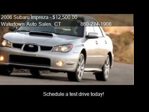 2006 subaru impreza 2 5 wrx manual for sale in watertown ct youtube. Black Bedroom Furniture Sets. Home Design Ideas