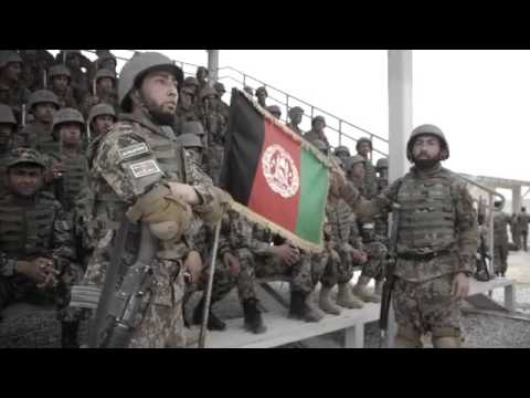 Afghan National Army Spits Hot Fire