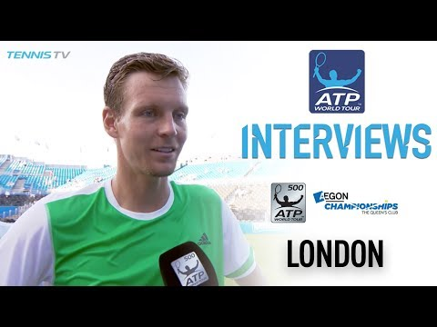 Berdych Motivated By Young Players Queens 2017