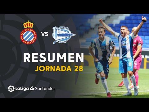 Espanyol Alaves Goals And Highlights