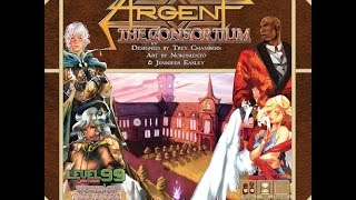 Argent: The Consortium review - Board Game Brawl