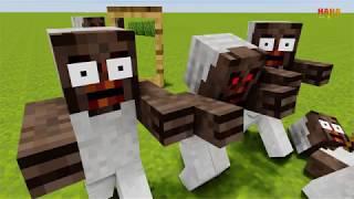 Monster School : MAGIC MIRROR CHALLENGE - Minecraft Animation