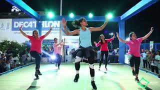 Daru Badnam| zumba dance fitness| decathlon utsav vadodara| urvi| inch loss
