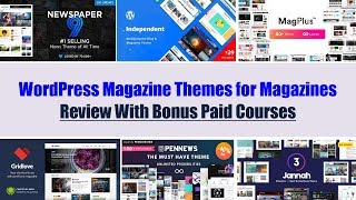 Top 10 WordPress Magazine Themes for Online Magazines Site