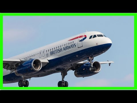 S News  Angry passengers buzzes noisily is the british airways plane from london to las vegas