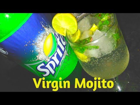 🍹 वर्जिन मुहितो | Virgin Mojito Recipe|MocktailDrink For Summer|Quick And Easy Drinks|Non Alcoholic