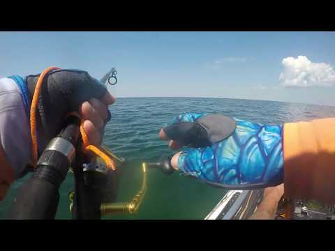 BIG KING FLIPS KAYAK OFFSHORE & RECOVERY - Fort Pickens GKF Camp N Paddle