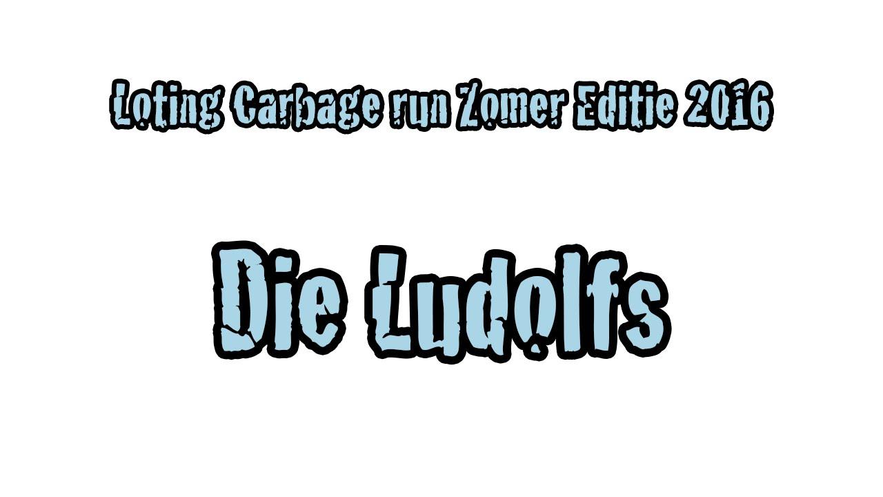 Loting Carbage Run Zomer Editie 2016 Die Ludolfs Youtube