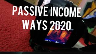 Passive income ways for 2020