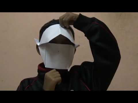"D.I.Y: ""Simple Paper Mask"""