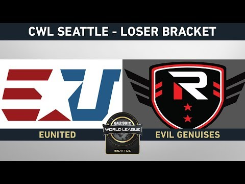 RISE NATION VS EUNITED - LOSER BRACKET - #CWLSEATTLELVP