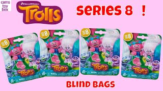 Trolls Series 8 Glow in the Dark Dreamworks Blind Bags Opening Surprise Toys Review