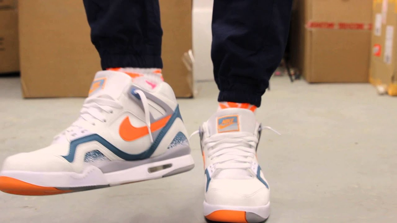 Nike Air Tech Challenge Ii Clay Blue On Feet Video At Exclucity Youtube
