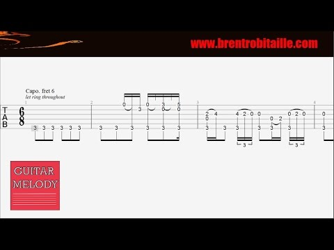 Guitar Tab - Cherry Wine - Hozier - How to Play - Intro - YouTube