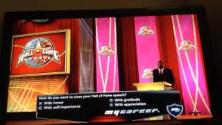 NBA 2K14 Retirement Ceremony (PS3)