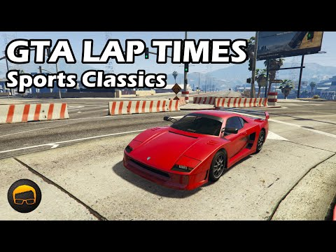 Fastest Sports Classics (2020) - GTA 5 Best Fully Upgraded Cars Lap Time Countdown