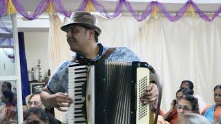Baar baar din yeh aaye Instrumental on Accordion by SJ Prasanna (9243104505 , Bangalore)