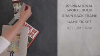 How To Make A Father's Day Sports Gift | Pottery Barn