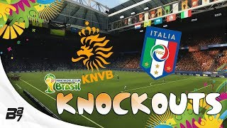 FIFA World Cup Brazil 2014 | Knockouts! Netherlands vs Italy