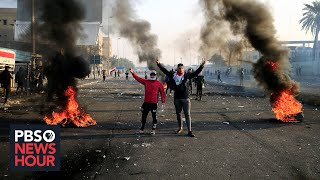 News Wrap: At least 3 dead, dozens injured in Baghdad protests