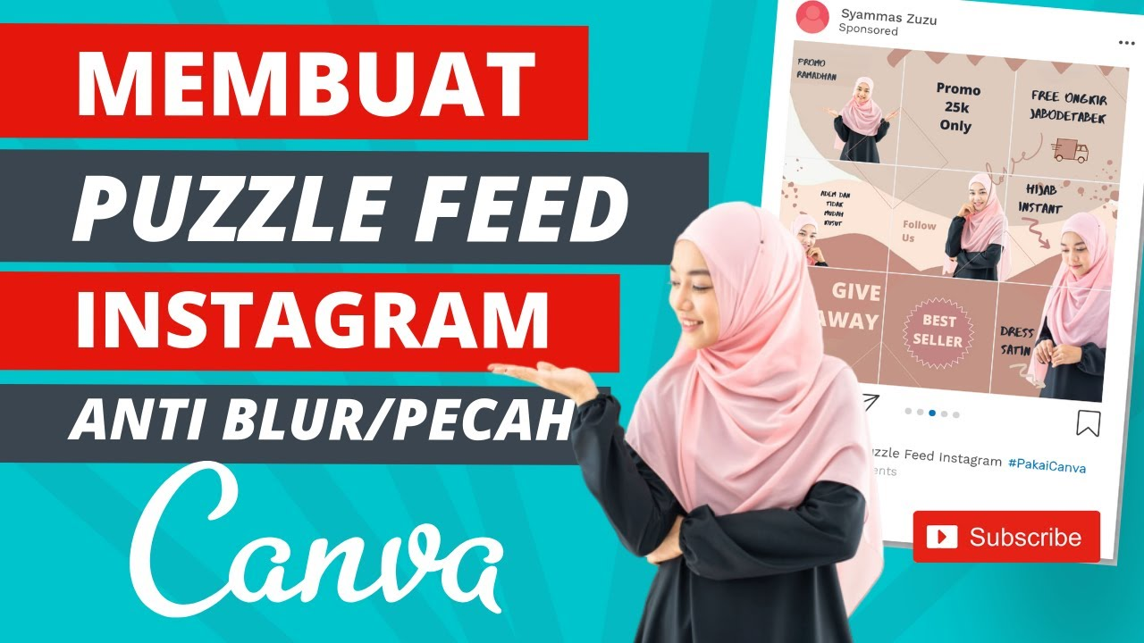How to Make an Instagram Feed Puzzle on Canva
