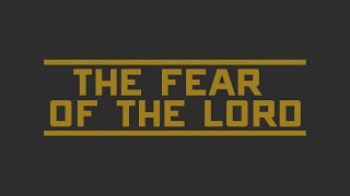 The Fear of the Lord - Eshon Burgundy
