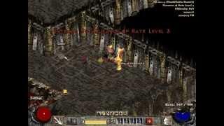 Diablo 2   Mephisto moat trick (Firewall)