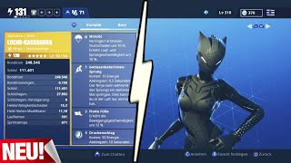 Le Nouveau The Lynx BATTLE ROYALE Skin en RDW !! Fortnite Save the World