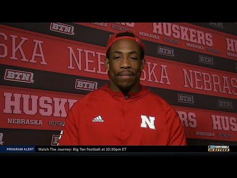 Devine Ozigbo Interview | Nebraska | Big Ten Football