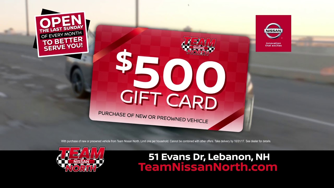 Team Nissan North >> Great Deals Continue At Team Nissan North