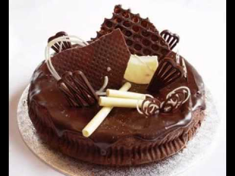 Easy Chocolate cake decorations ideas - YouTube