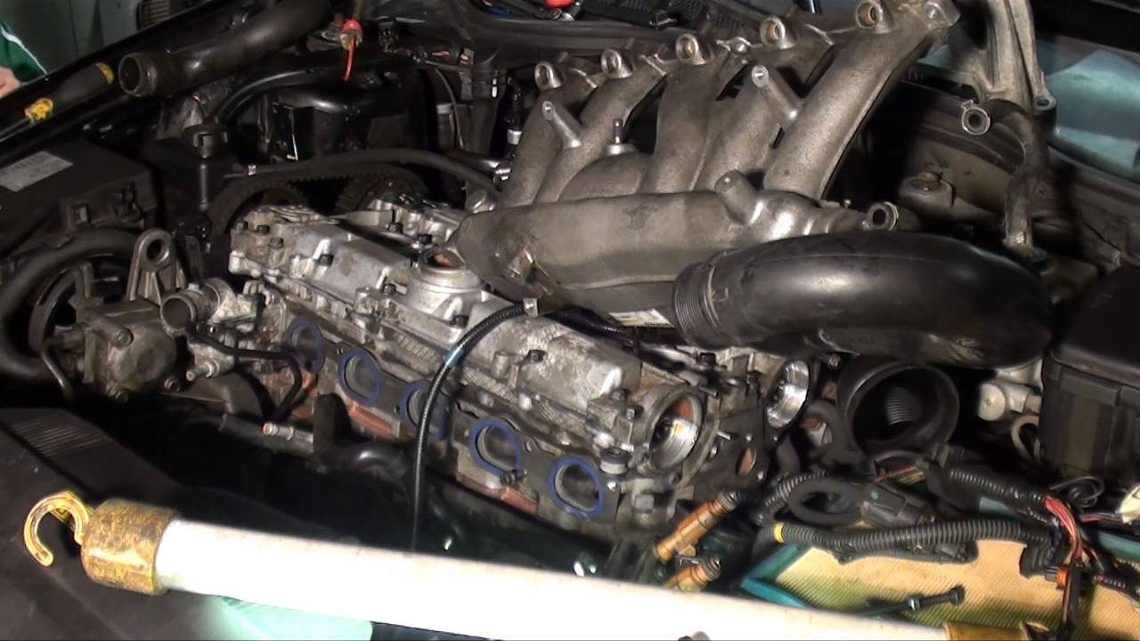 Part-4 Volvo S70 2.4T cylinder head installation - YouTube
