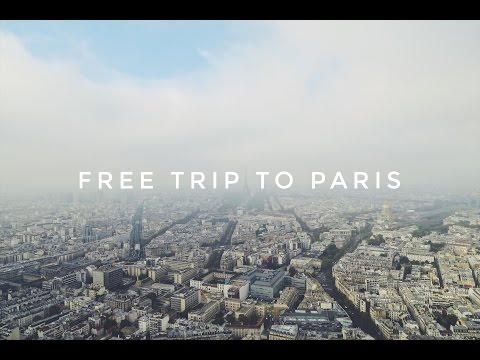 HOW TO TRAVEL FOR FREE! // MY TRIP TO PARIS