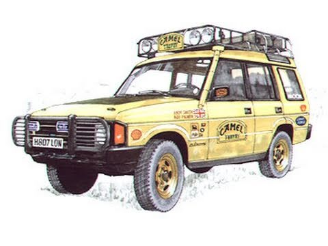 I Land Rover Discovery Camel Trophy 1991 3rd Generation 1998 Xs 1996 3 Door 1989 Art Youtube