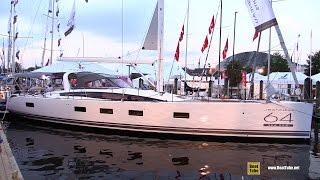 2016 Jeanneau Yachts 64 -  Deck and Interior Walkaround - 2015 Annapolis Sail Boat Show